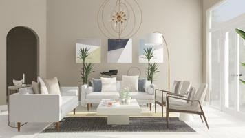 Online design Contemporary Living Room by Anna P. thumbnail