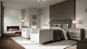 Online design Modern Bedroom by Selma A. thumbnail