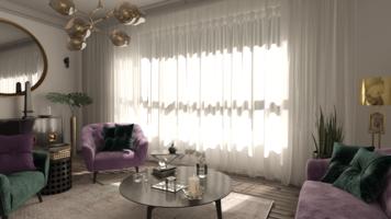 Online design Eclectic Living Room by Marcu E. thumbnail