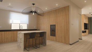 Online design Modern Kitchen by Sophio J. thumbnail