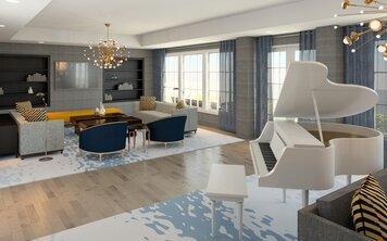 Online design Transitional Living Room by Lynda N thumbnail