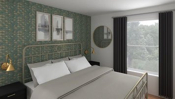 Online design Eclectic Bedroom by Jessica S. thumbnail