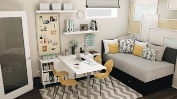 Online design Modern Home/Small Office by Krystyna A. thumbnail