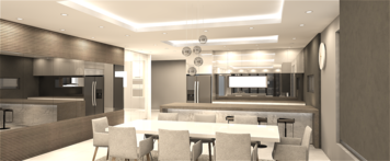 Online design Modern Kitchen by mujtaba m. thumbnail