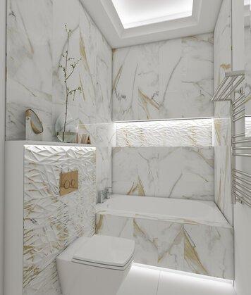 Online design Contemporary Bathroom by Ioana A. thumbnail