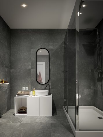 Online design Contemporary Bathroom by Nada M. thumbnail