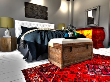 Online design Contemporary Bedroom by Ahmed E. thumbnail