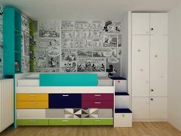 Online design Modern Kids Room by Dragana V. thumbnail