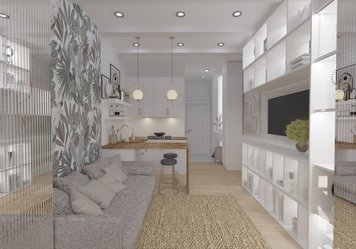 Online design Country/Cottage Living Room by Yana K. thumbnail