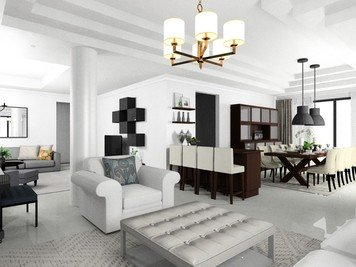 Online design Contemporary Dining Room by Noraina Aina M. thumbnail