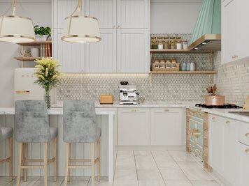Online design Transitional Kitchen by Aida A. thumbnail