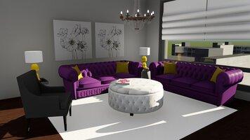 Online design Glamorous Living Room by Jeseline T. thumbnail