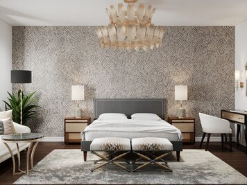 Online design Eclectic Bedroom by Aida A. thumbnail