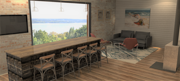 Online design Country/Cottage Combined Living/Dining by Shanthi O. thumbnail