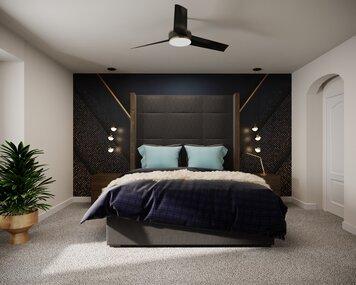 Online design Glamorous Bedroom by Wanda P. thumbnail