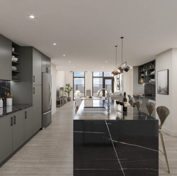 Online design Contemporary Kitchen by Hannah G. thumbnail