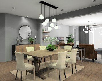 Online design Transitional Dining Room by Noraina Aina M. thumbnail
