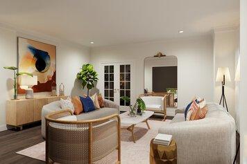 Online design Glamorous Living Room by Drew F. thumbnail
