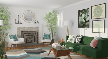 Online design Transitional Living Room by Anna P. thumbnail