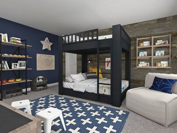 Online design Contemporary Bedroom by Dragana V. thumbnail