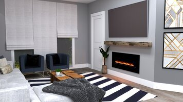Online design Modern Living Room by Yasmin C. thumbnail
