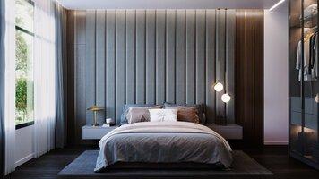 Online design Modern Bedroom by Beyzanur K. thumbnail