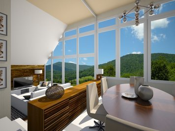 Online design Modern Combined Living/Dining by Dale C. thumbnail
