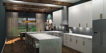 Online design Modern Kitchen by Caroline B. thumbnail