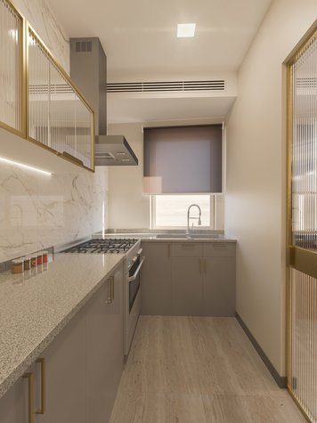 Online design Transitional Kitchen by Sophio J. thumbnail