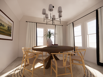 Online design Contemporary Dining Room by Meghan E. thumbnail