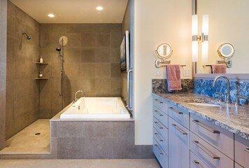 Online design Modern Bathroom by Jeff D. thumbnail