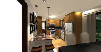Online design Transitional Kitchen by Audrey P. thumbnail