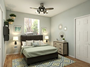 Online design Traditional Bedroom by Christine M. thumbnail