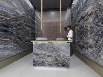 Online design Transitional Bathroom by Rawan A. thumbnail
