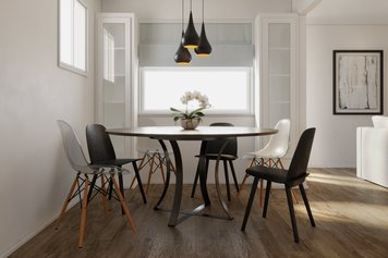 Online design Contemporary Dining Room by Tamna E. thumbnail