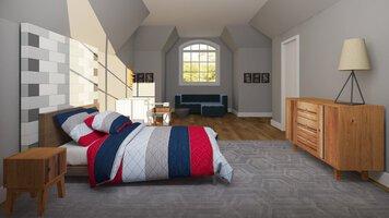 Online design Eclectic Bedroom by Lauren A. thumbnail