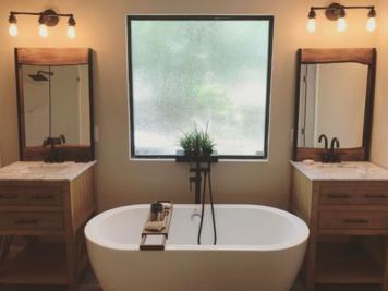 Online design Transitional Bathroom by Lindsay D. thumbnail