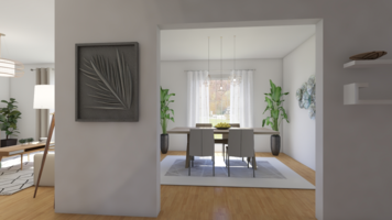 Online design Contemporary Dining Room by Leah M. thumbnail
