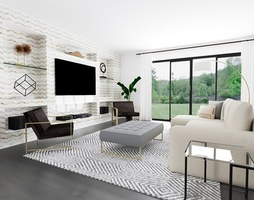 Online design Modern Living Room by MaryBeth C. thumbnail