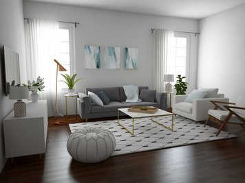 Online design Contemporary Living Room by Aoife T. thumbnail