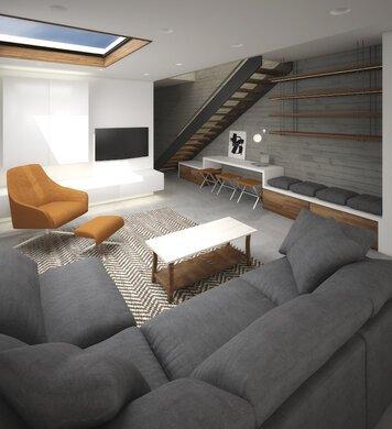 Online design Modern Living Room by Marina S. thumbnail
