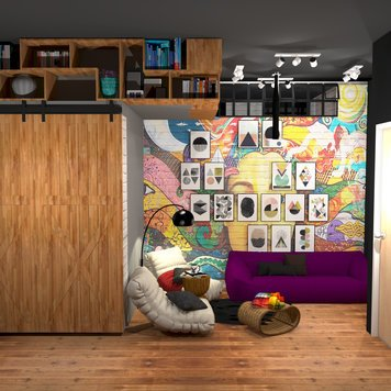 Online design Eclectic Kids Room by Ahmed E. thumbnail
