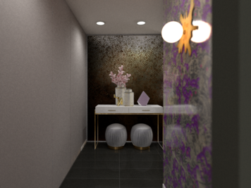 Online design Eclectic Hallway/Entry by Taron H. thumbnail
