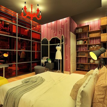 Online design Eclectic Bedroom by Ahmed E. thumbnail