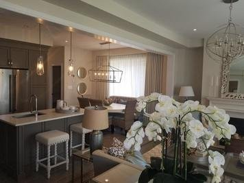 Online design Glamorous Combined Living/Dining by Kiran K. thumbnail