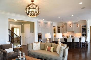 Online design Transitional Combined Living/Dining by Brooke M. thumbnail
