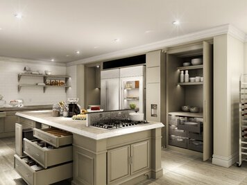 Online design Contemporary Kitchen by Edelyn P. thumbnail