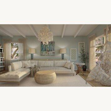 Online design Beach Living Room by Iulia B. thumbnail