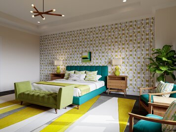 Online design Modern Bedroom by Casey H. thumbnail