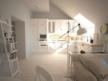 Online design Country/Cottage Kitchen by Dominika Z. thumbnail
